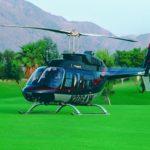 Аренда Bell 206B3 JetRanger на бейсбольный матч