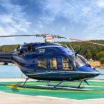 Аренда Bell 429 на бейсбольный матч
